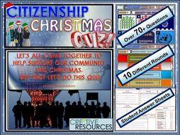 GCSE Citizenship Christmas Quiz