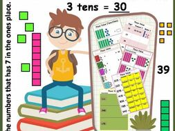 PLACE VALUE Puzzles for 2nd grade