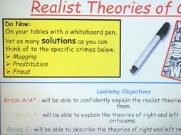 Year 13 Crime and Deviance Lessons