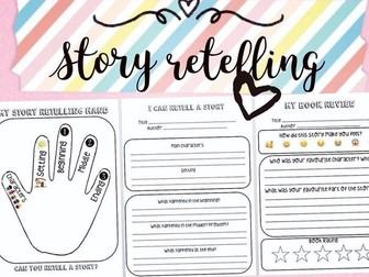 Story Retelling Book Review