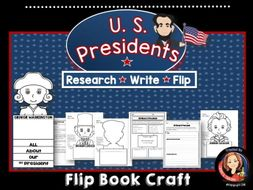 Presidents Day Writing Craft Activity