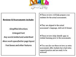 Grade 2, Math Module 8 REVIEW & ASSESSMENT w/Ans keys (printables & Smart Board)