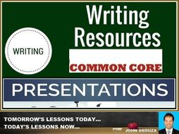 WRITING PRESENTATIONS BUNDLE