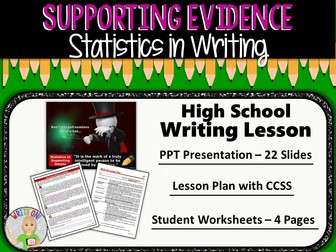 STATISTICS as Supporting Evidence - High School