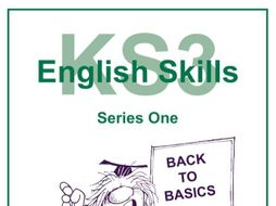 KS3 English Skills Series One Resource Pack Sample Pages