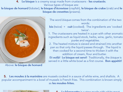French Food Facts