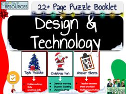 D&T Christmas Puzzle Work Book