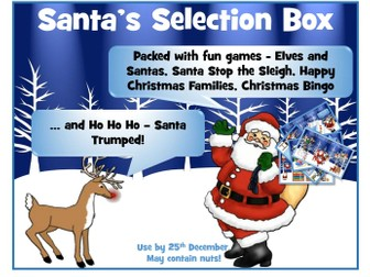 Christmas Maths / English Games
