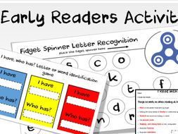 Early Readers activities