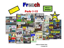 French for Adults: Beginners: Parts 1-15 (Only £25!!) Plus bonus French alphabet and Halloween resource!!