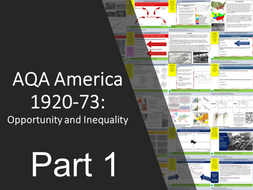 AQA America 1920-1973: Opportunity and Inequality Part 1