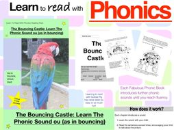 The Bouncing Castle: Learn The Phonic Sound ou (as in bounce) (Learn To Read With Phonics Pack)
