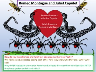 Romeo and Juliet Identity