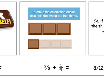 Bar Modelling - Fractions