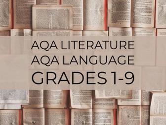 Creative writing: narrative perspectives AQA Language paper 1