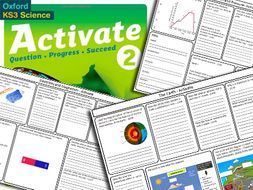 KS3 Activate 2 Science Book Revision Bundle