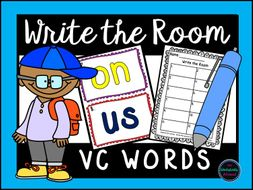 VC Words Write the Room Activity