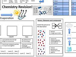 C1 Chemistry Revision Worksheet