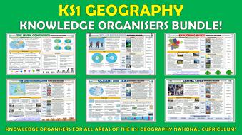 KS1 Geography Knowledge Organisers Bundle!
