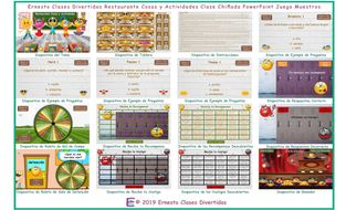 Restaurant-Things-and-Activities-Kooky-Class-Spanish-PowerPoint-Game.pptm