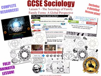 Family Life Around The World- Sociology of Family L5/20 [ AQA GCSE Sociology - 8192] Global