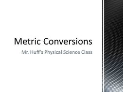 Metric Conversion How-To Video