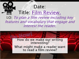 Film Review Writing