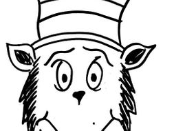 Cat In The Hat Mask Template
