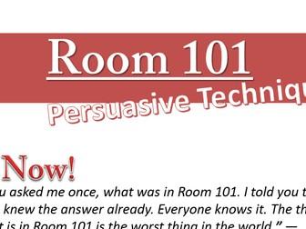 Room 101 - Persuasive Writing