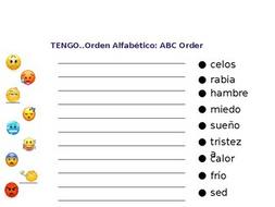 "Spanish Emoji lesson with ""tengo"""