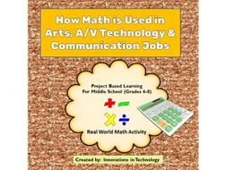 real world math how math is used in arts av tech communications