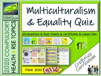 Multiculturalism and Equality Quiz