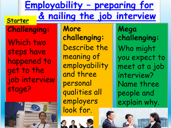 Employment: Job Interviews: Careers