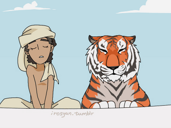 LIFE OF PI INTRO: JOURNALS 1 & 2 WITH ACTIVITY [ANIMAL IMPORT VS. HUMAN IMMIGRATION][LOST AT SEA]
