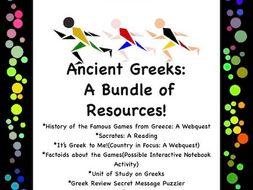 Ancient Greeks: A Bundle of Resources!