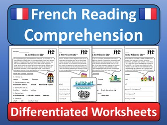 French Reading Comprehension