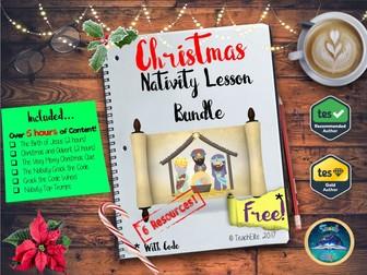 Christmas: Nativity Lesson Bundle