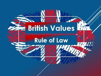 Citizenship: British Values: Rule of Law/Parliamentary Sovereignty