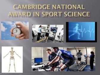 OCR Cambridge National Sport Science - Unit R042 Teaching Bundle