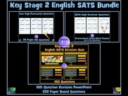 SATS English Revision Bundle