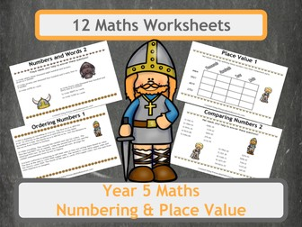 viking themed maths worksheet bundle for year 5 classes by primarymathsresources teaching. Black Bedroom Furniture Sets. Home Design Ideas