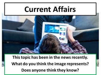 Internet Addiction - Current Affairs Form Time Activity