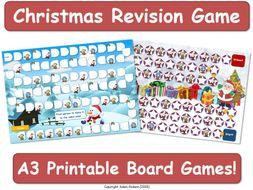 Christmas Board Game [Game, Fun, Boardgame]