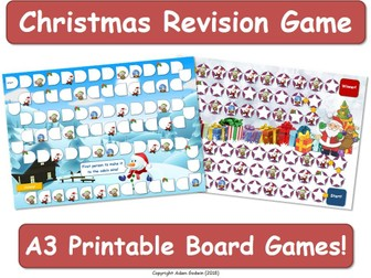 Christmas Board Game [Game, Fun, Boardgame]