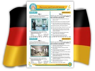 Gesundheit - German Speaking Activity