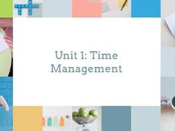 Time Management - Lesson 3 - Reducing Stress