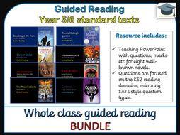 Year 5/6 Guided Reading Novel Bundle