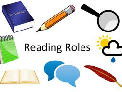 Reading Roles - a way to help children remember the areas of the content domain (KS1 and KS2)