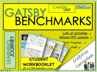 Y8 Careers Student Work Book - Gatsby Benchmarks
