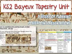KS2 BAYEUX TAPESTRY Art Unit